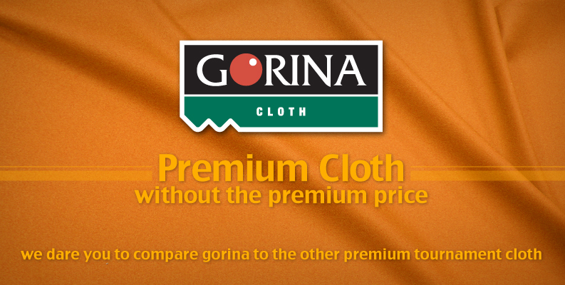 Gorina Pool Table Cloth