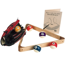Maple Baseball Pocket Billiards Triangle