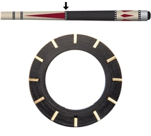 Black/Brass 12 Dash A-Joint Ring