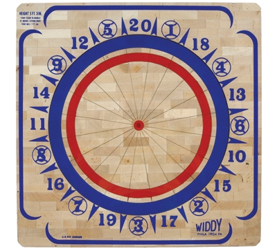 Basswood Dartboard