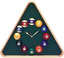 Triangle Pool Ball Clock