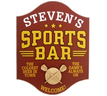 Personalized Dart Sports Bar Sign