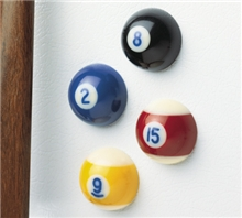 Pool Ball Magnets