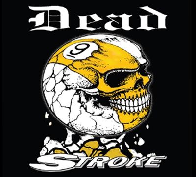 Dead Stroke Pool T Shirt 9 Ball Skull Mueller S
