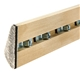 Replacement 8' United Coin-Op Rails Set/6