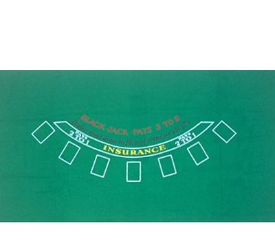 Blackjack Felt Layout Mueller S Billiard Amp Dart Supplies