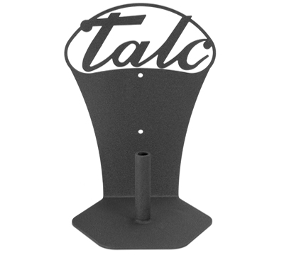 Powder-Coated Steel Cone Talc Holder
