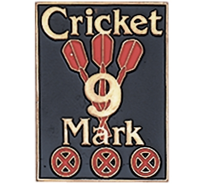 Cricket 9 Mark Pin