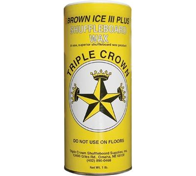 Brown Ice III Shuffleboard Wax