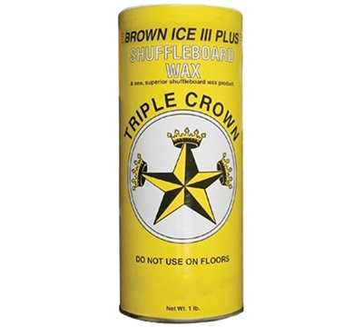 Brown Ice III Shuffleboard Wax