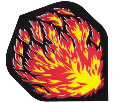 Flames Hard Poly Flight