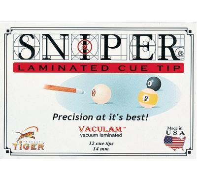 Sniper Laminated Cue Tip