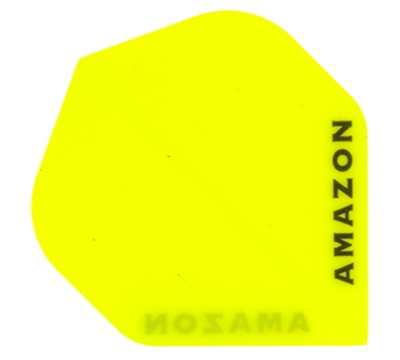 Neon Yellow Amazon Hard Poly Flight