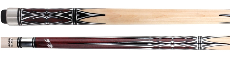 Cuetec Natural Inlay Series Cue – 13-725