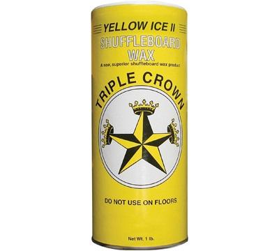 Yellow Ice II Shuffleboard Wax