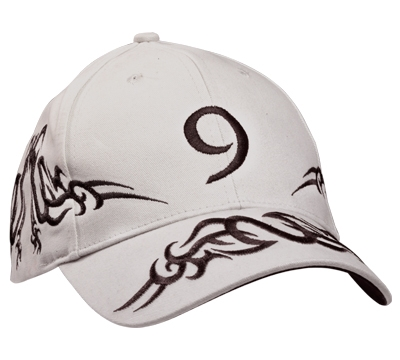 RT9 White Tribal Hat