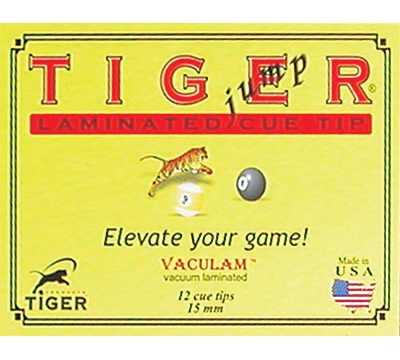 Tiger Jump/Break Laminated Cue Tip