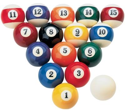 Cue King Pool Ball Set