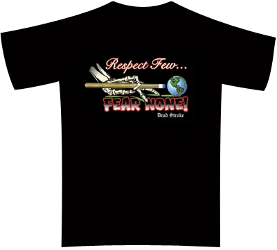 Dead Stroke Pool T-Shirt – Pool Respect Few