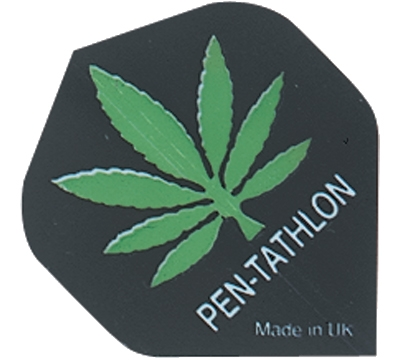 Hemp Leaf Double-Thick Poly Pen-tathlon Flight