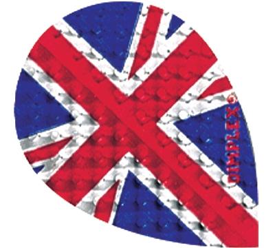 British Flag Dimplex Teardrop Flight