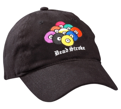 Dead Stroke Hat – 9-Ball Rack