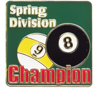 Spring Division Champion Pin