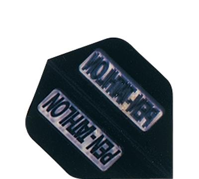 Black Double-Thick Poly Pentathlon Mini Flight