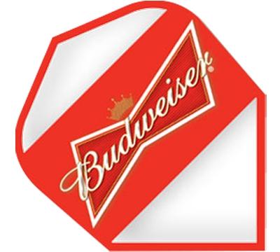 Budweiser® Bowtie Clear Poly Standard Flight