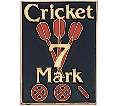 Cricket 7 Mark Pin