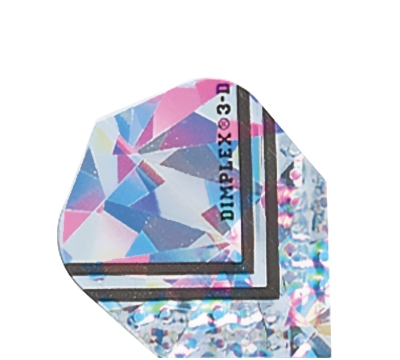 Silver Micro Dimplex 3D Flight