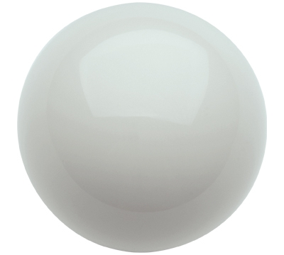 "White 2 1/8"" Snooker Cue Ball"