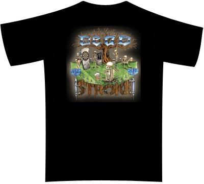 Dead Stroke Dart T-Shirt – Graveyard