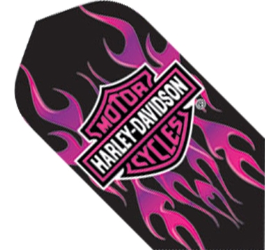 Harley-Davidson® Pink Flames Slim Flight