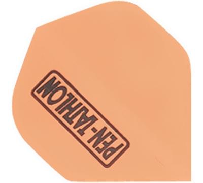 Neon Orange Double-Thick Poly Pentathlon Flight