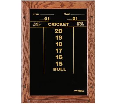 Oak-Framed Dart Scoreboard