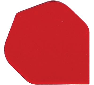 Red Standard Hard Poly Flight