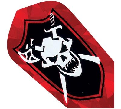 Skull Crossbones 2D/3D Slim Flight