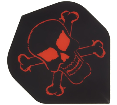 Skull & Crossbones Hard Poly Flight