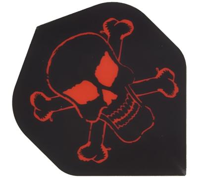 Skull & Crossbones Hard Poly Flight