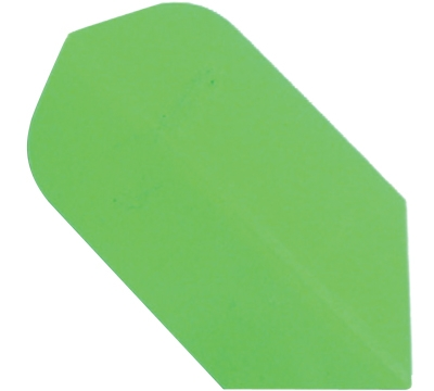 NEON GREEN HARD POLY SLIM FLIGHT