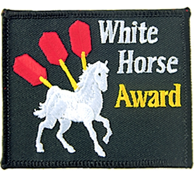 White Horse Award Patch