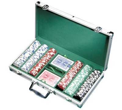 Aluminum 300 Poker Chip Case
