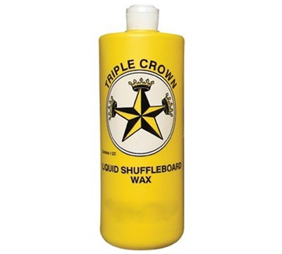 Shuffleboard Liquid Wax