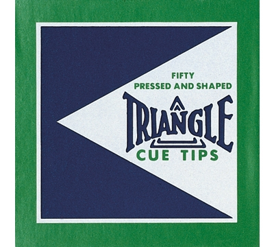 Triangle Cue Tips – 12mm