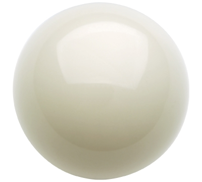 White Cue Ball