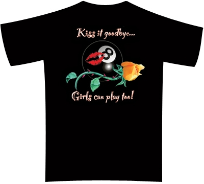Dead Stroke Pool T-Shirt – Kiss It Goodbye