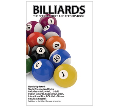 Billiard Congress of America (BCA) Rule Book