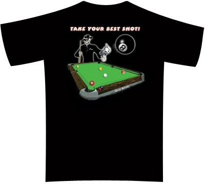 Dead Stroke Pool T-Shirt – Best Shot