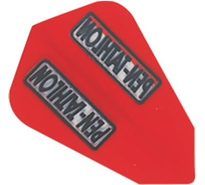 Red Double-Thick Poly Pen-tathlon Lantern Flight